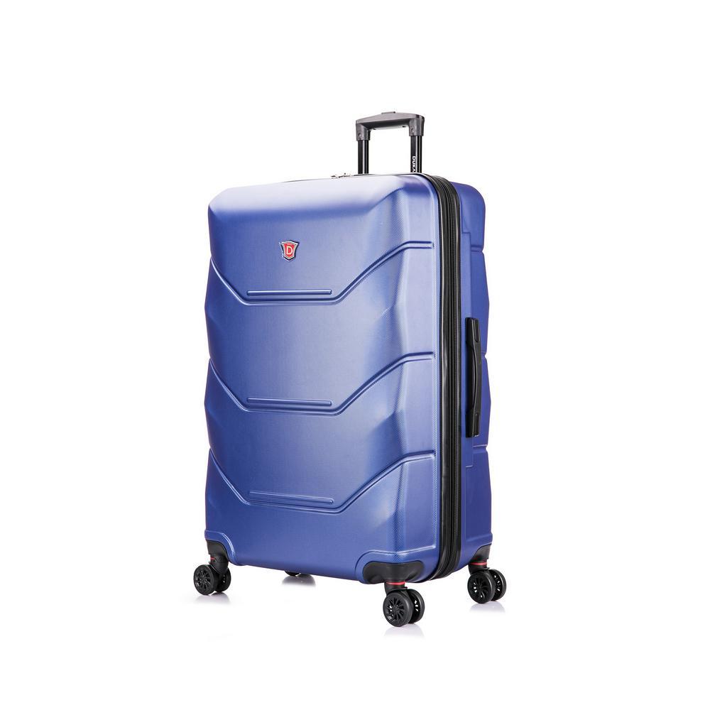 Zonix 32 in. Blue Lightweight Hardside Spinner Suitcase