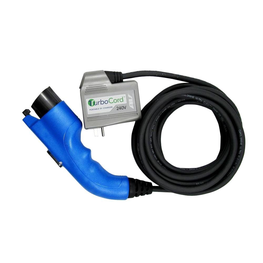 AeroVironment TurboCord 240-Volt 16 Amp Plug-In EV Charger - Charging Station