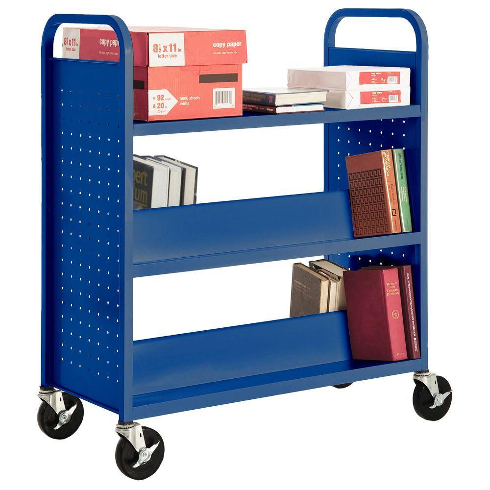 Ocean Mobile Steel Bookcase