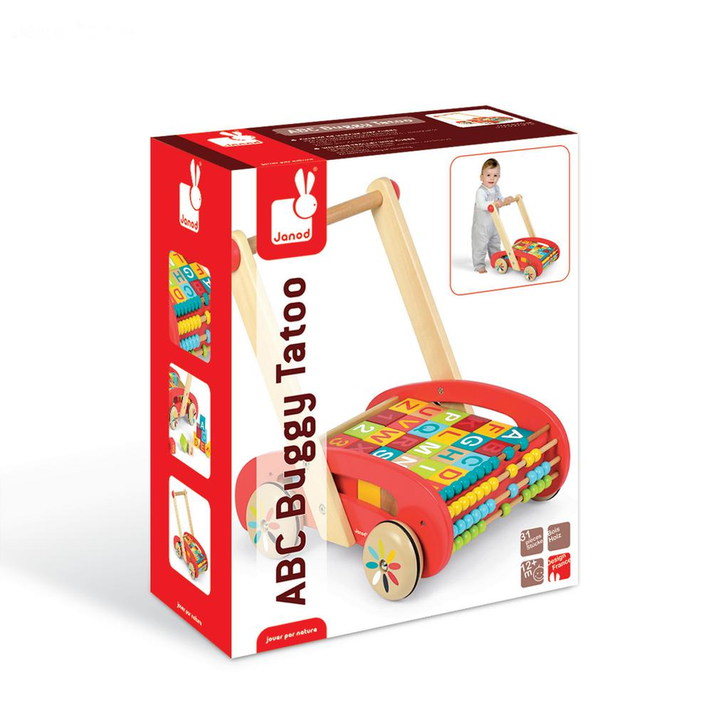 ABC Buggy Cart with Blocks