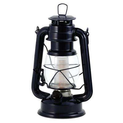 Vintage Blue Battery Operated LED Lantern (2-Pack)