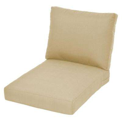 Beverly CushionGuard Oatmeal Replacement Outdoor Lounge Chair Cushion