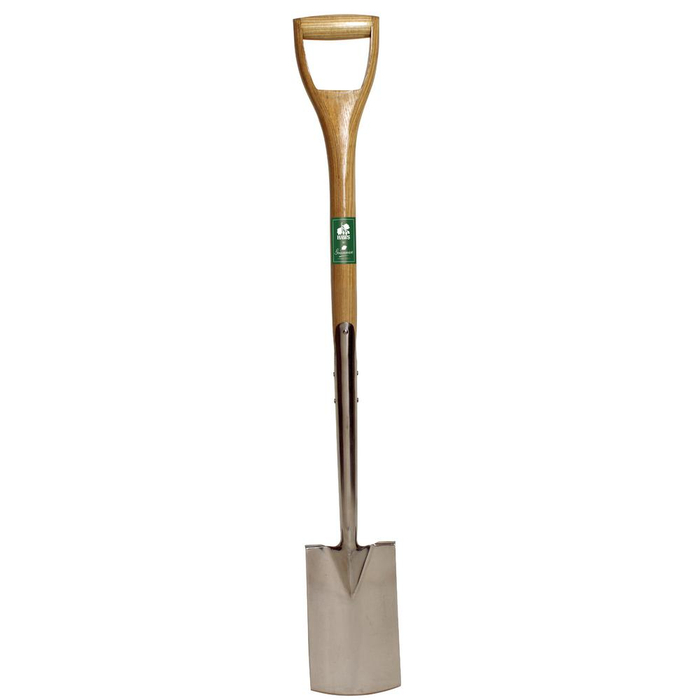 English Garden 39 In. D-Handle Stainless Steel Border Spade