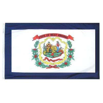 3 ft. x 5 ft. West Virginia State Flag