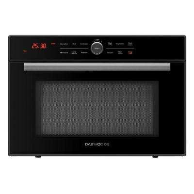 1.2 cu. ft. Countertop Electric Microwave / Oven / Grill Combo in Black with Convection Cooking