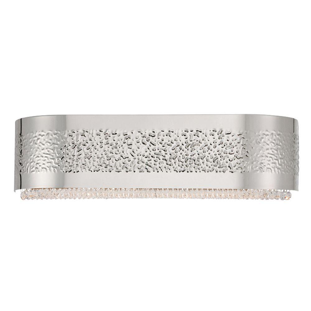 Cara Collection 4-Light Satin Nickel Bath Bar Light