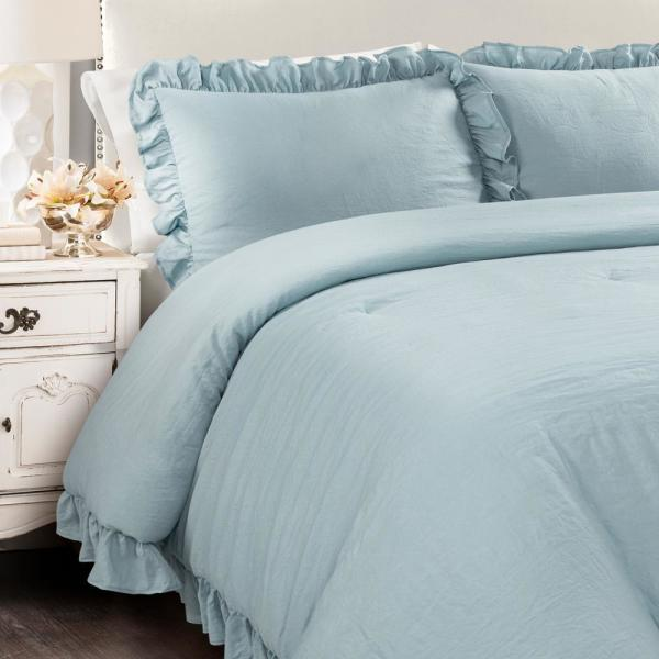 Lush Decor Reyna Comforter Lake Blue 3