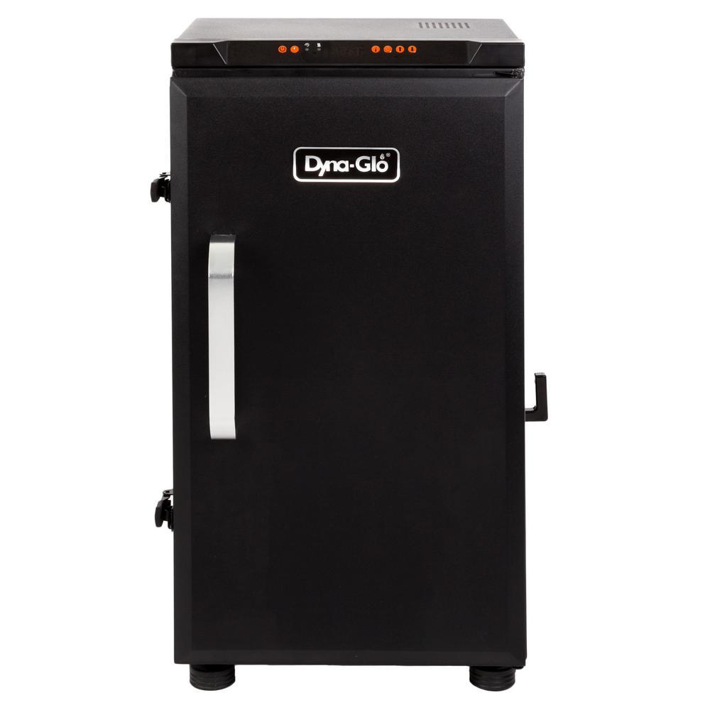 30 in. Digital Electric Smoker in Black