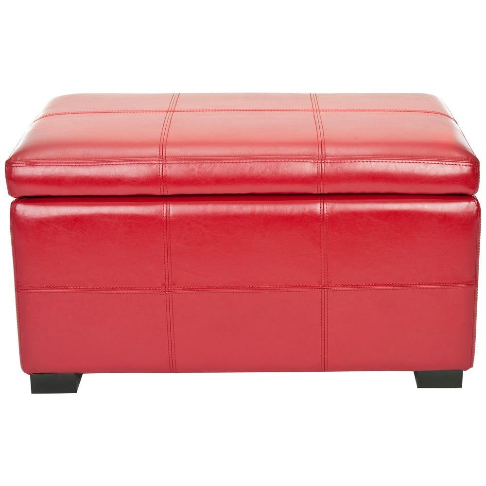 Safavieh Lily Red Bench Hud8227r The