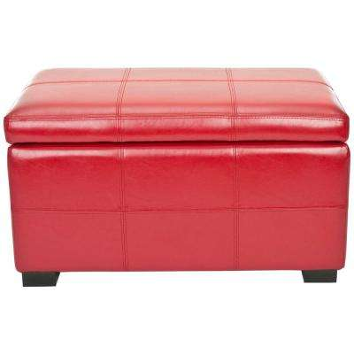 Lily Red Bench
