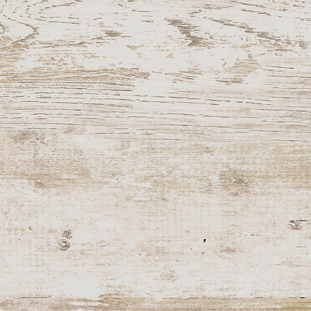 Rustic Bridge White Wash 3 in. x 12 in. Colorbody Porcelain
