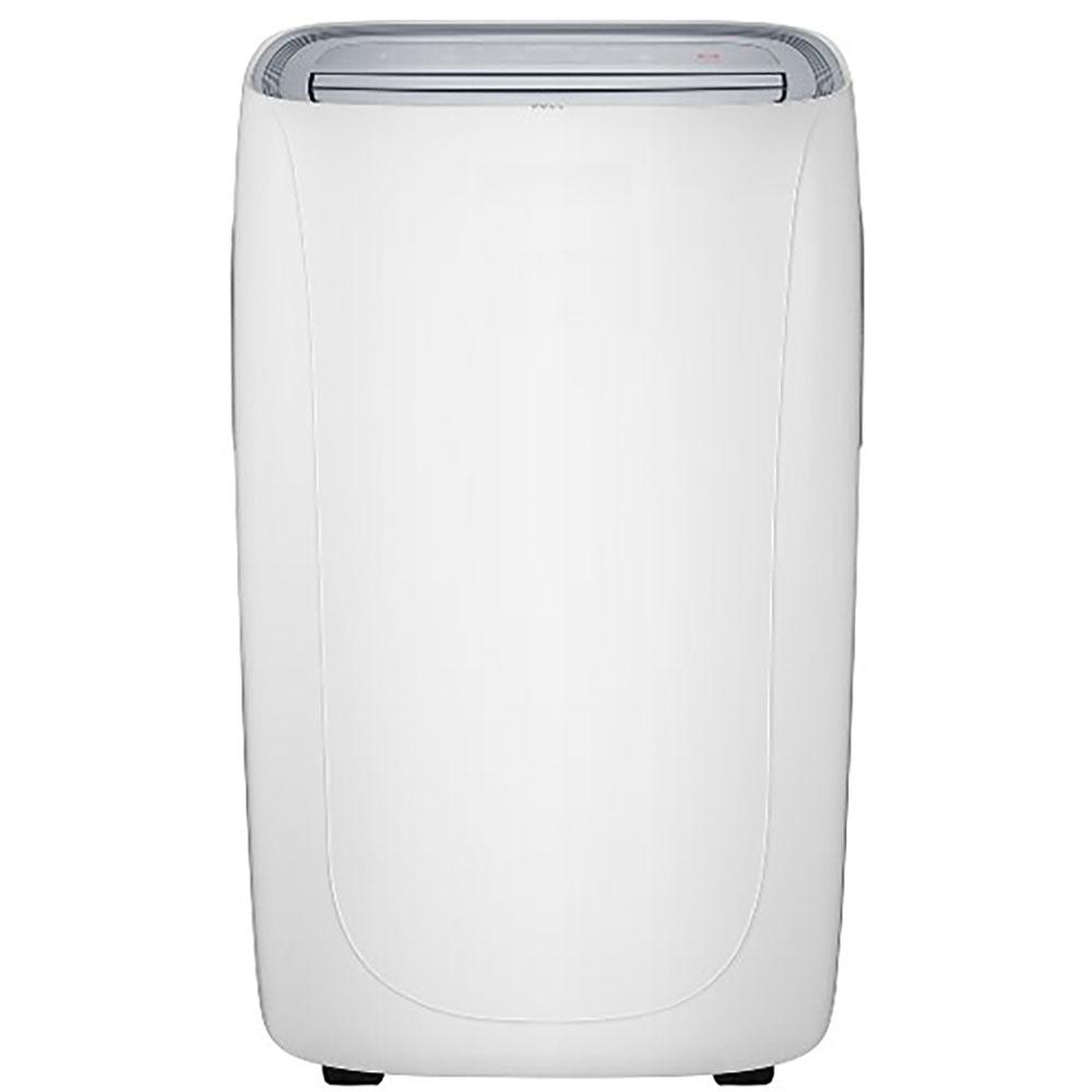 tcl 14 000 btu 7 000 btu doe portable air conditioner with heater and remote control in white. Black Bedroom Furniture Sets. Home Design Ideas
