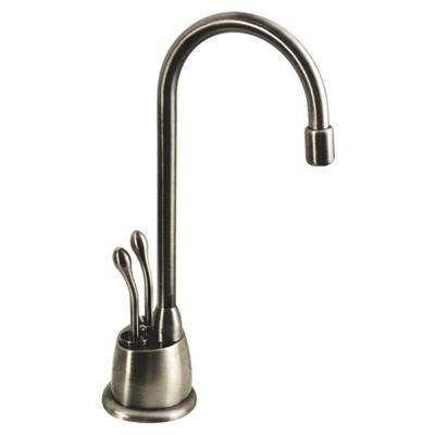 hot and cold water filter faucet. Forever Hot 2 Handle Instant and Cold Water Dispenser Faucet in Brushed  Nickel System Filters Kitchen