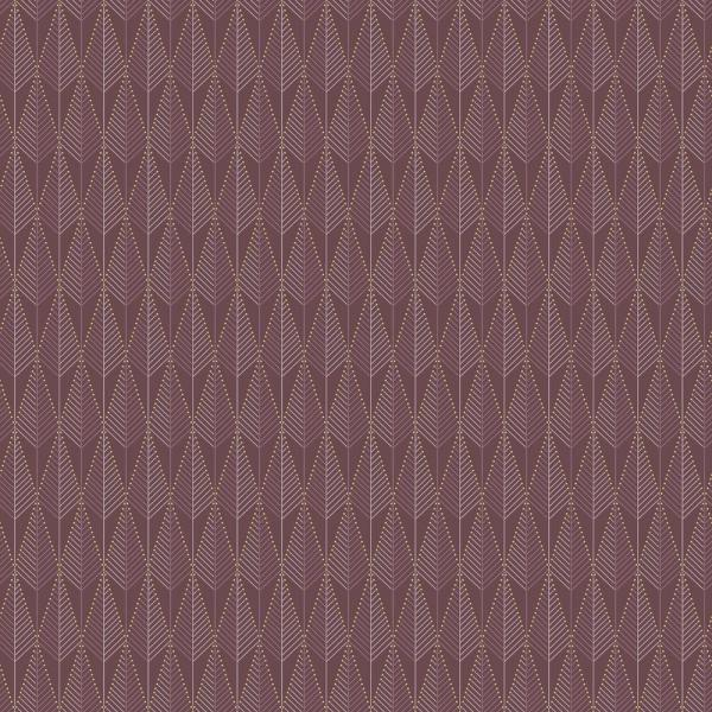 Brewster Purple Geometric Texture Wallpaper WV5679