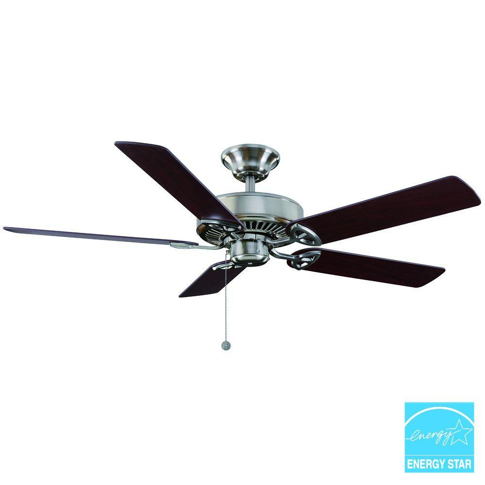 Farmington 52 in indoor natural iron ceiling fan 32764 the home customer reviews aloadofball Image collections
