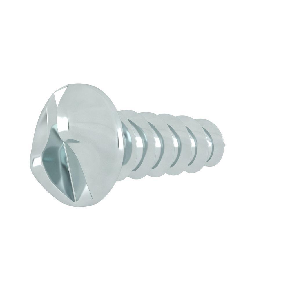 10 x 3//4 Hard-to-Find Fastener 014973286415 One Way Oval Sheet Metal Screws Piece-30