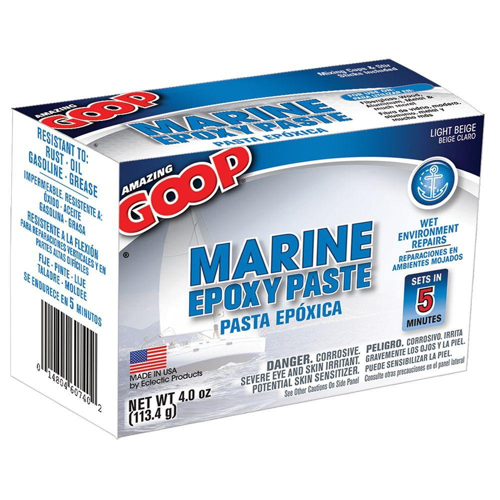 4 oz. Marine Epoxy Paste (8-Pack)