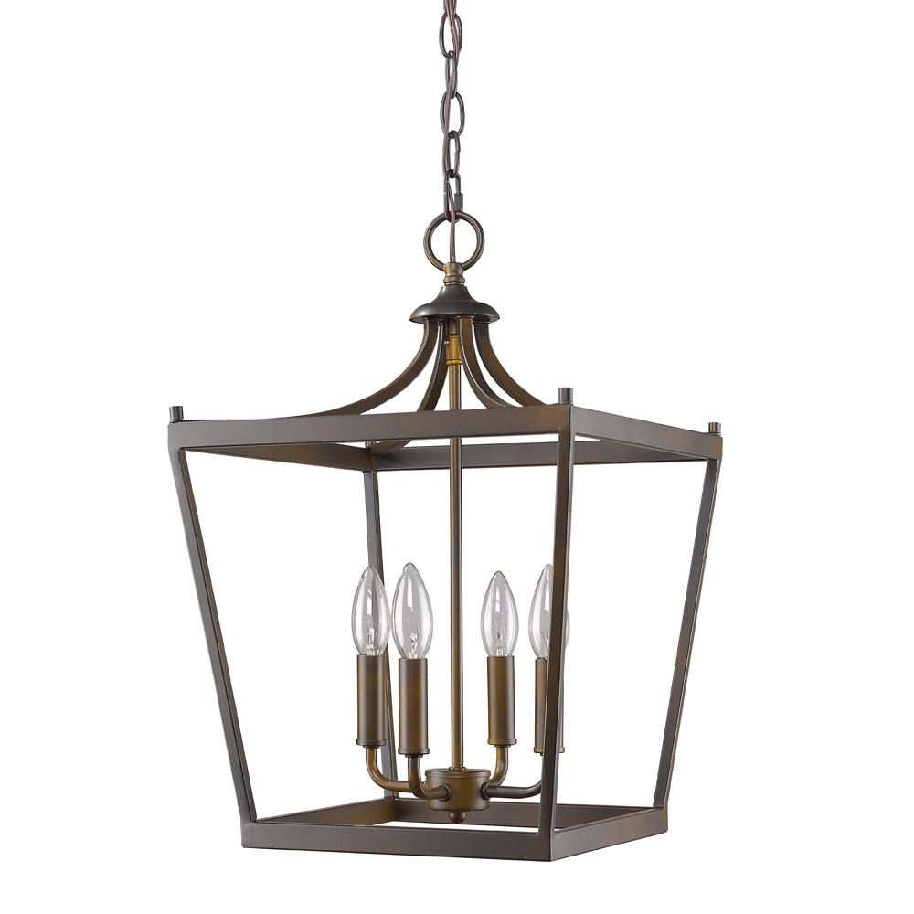 Acclaim Lighting Kennedy 4 Light Indoor Oil Rubbed Bronze Chandelier In11133orb The Home Depot