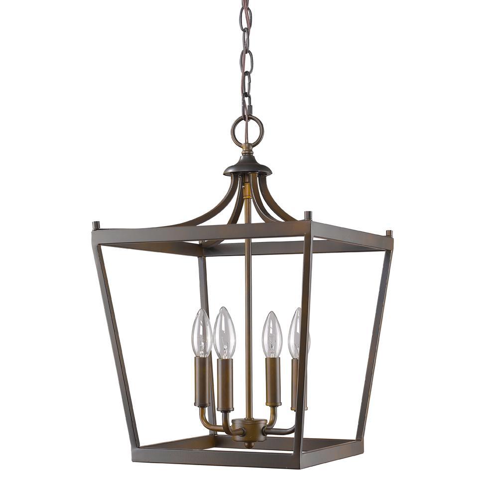 Kennedy 4-Light Indoor Oil Rubbed Bronze Chandelier