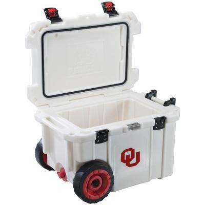 45 Qt. University of Oklahoma Sooners Elite Wheeled Cooler