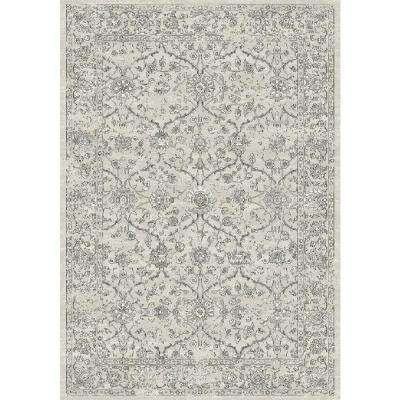 Ancient Garden Silver/Grey 5 ft. x 8 ft. Indoor Area Rug
