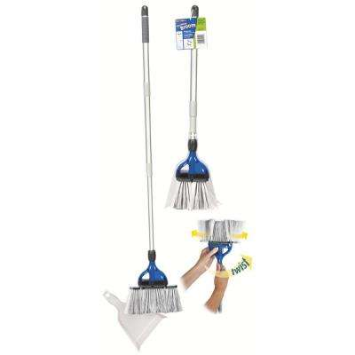 StorMate Broom - Extendable and Collapsible Broom for RV, Marine, Home Use