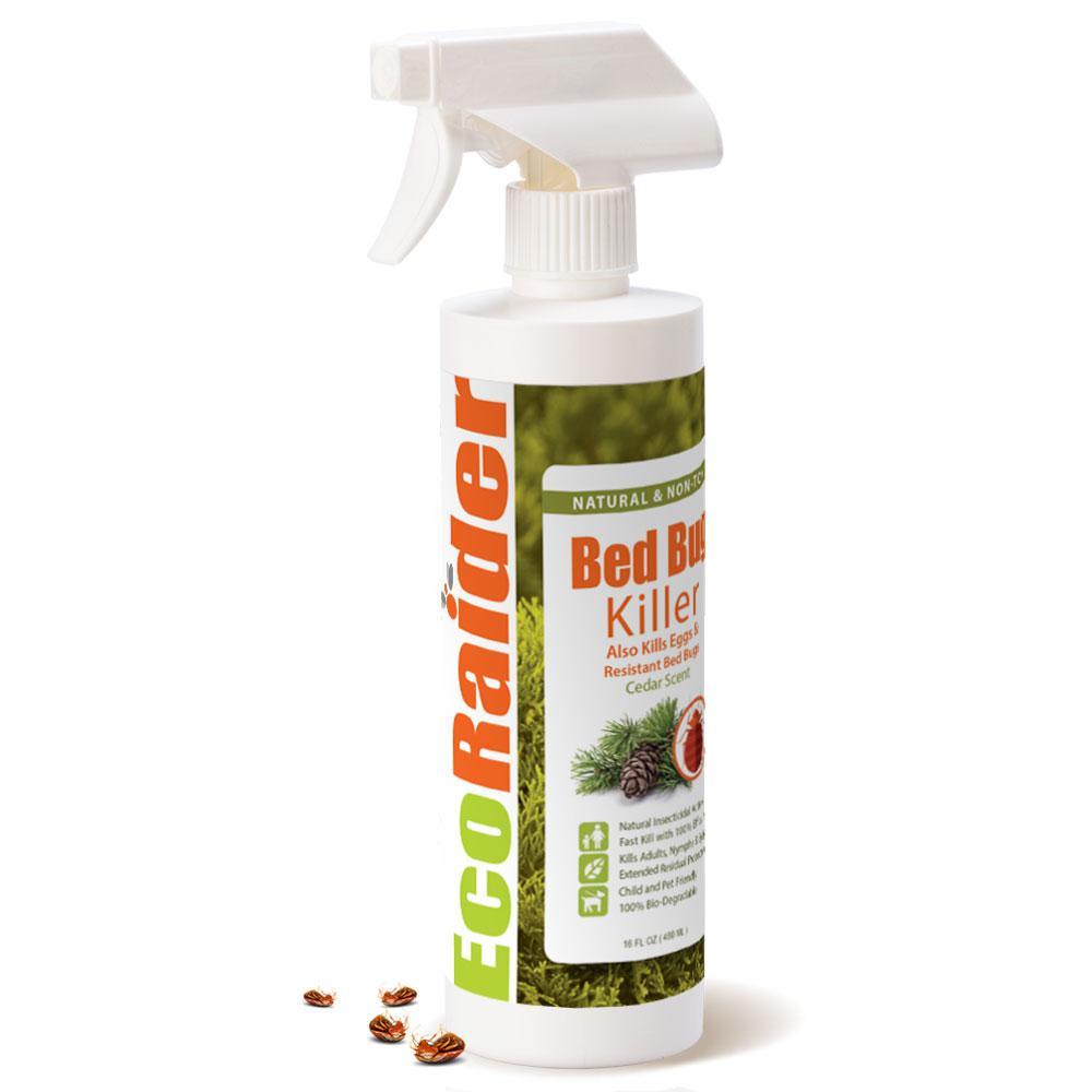 EcoRaider 16 oz. Natural and Non-Toxic Bed Bug Killer Spray Bottle
