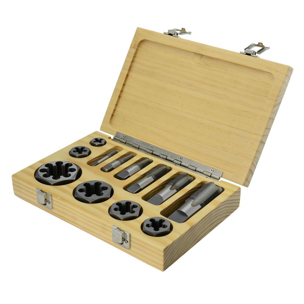 """die button NO.12; 1//4/"""" 25mm OD UNC N0.4 1//2/"""" Tungsten steel Hand Tap"""