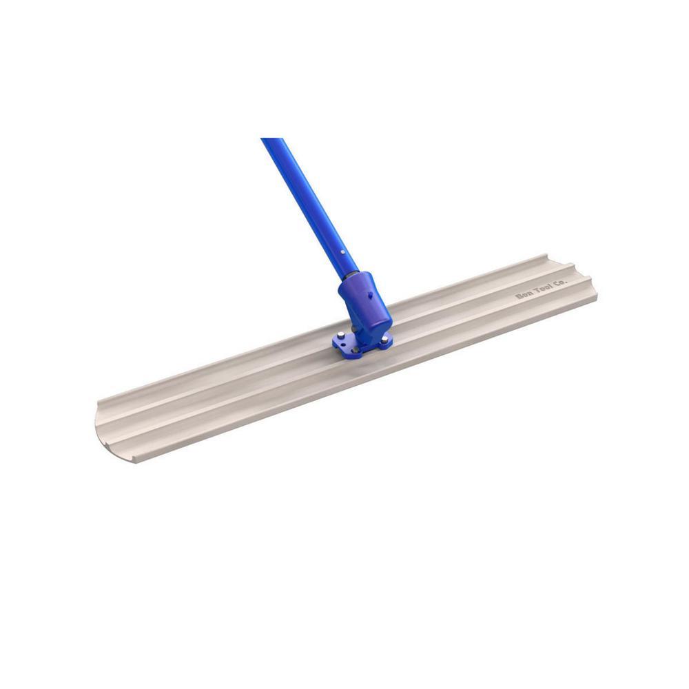 Bon Tool 48 In X 8 In Magnesium Bull Float Kit Round