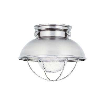 Sebring Brushed Stainless Integrated LED Outdoor Flush Mount