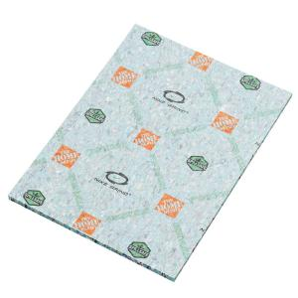 7/16 in. Thick Green 8 lb. Density Rebond Carpet Pad