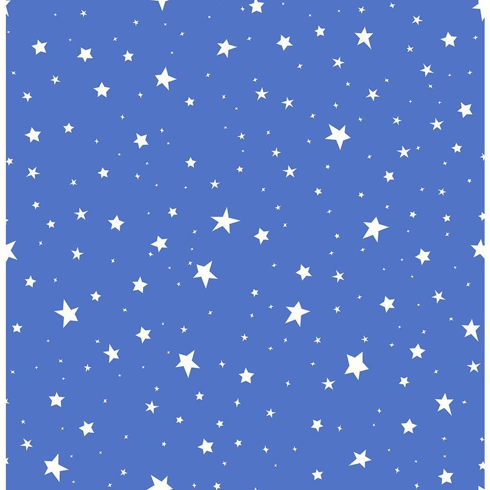 Brewster Blue Stars Wallpaper 2679 002121 The Home Depot