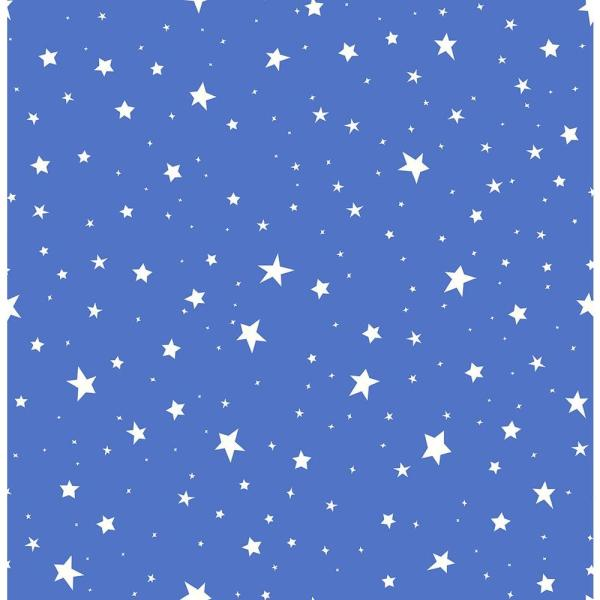 Brewster Blue Stars Wallpaper