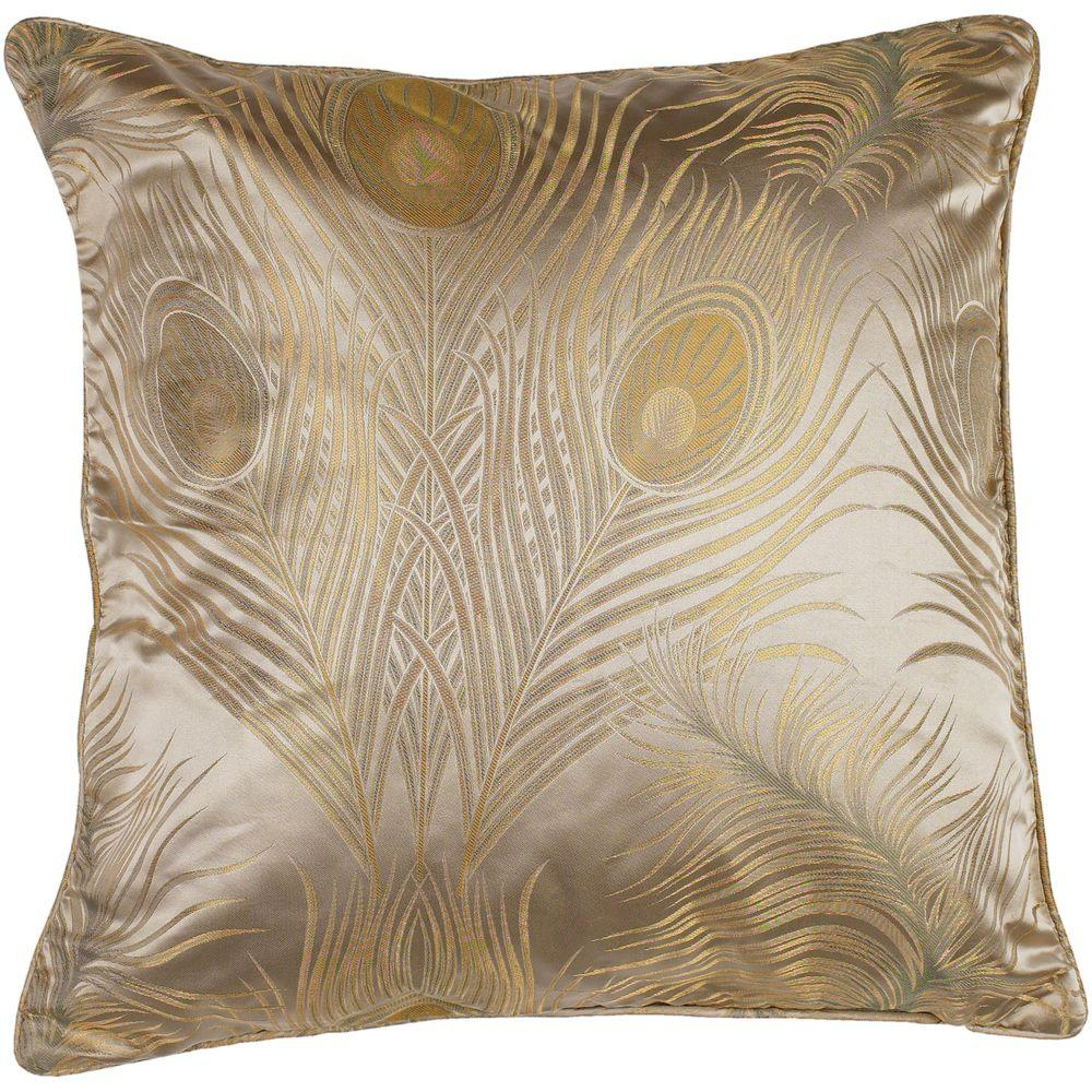Artistic Weavers Peacock2 18 in. x 18 in. Decorative Down Pillow-DISCONTINUED