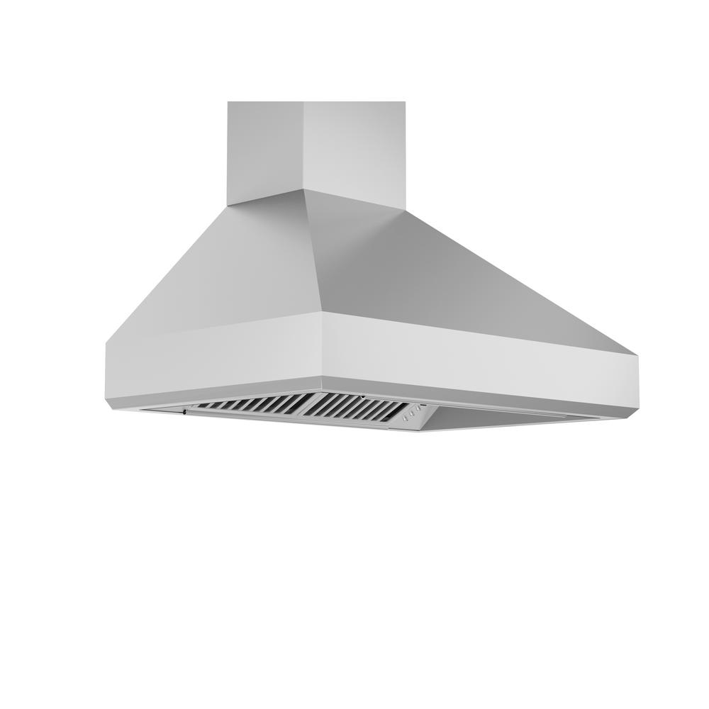 Zline Kitchen And Bath Zline 42 In. 1200 Cfm Wall Mount Range Hood In Stainless Steel, Brushed Stainless Steel