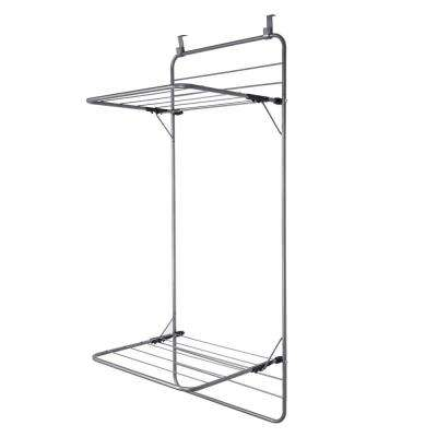 10-Bar Towel Rack in Grey