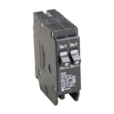 BD 2-20 Amp Single Pole Tandem CTL Circuit Breaker