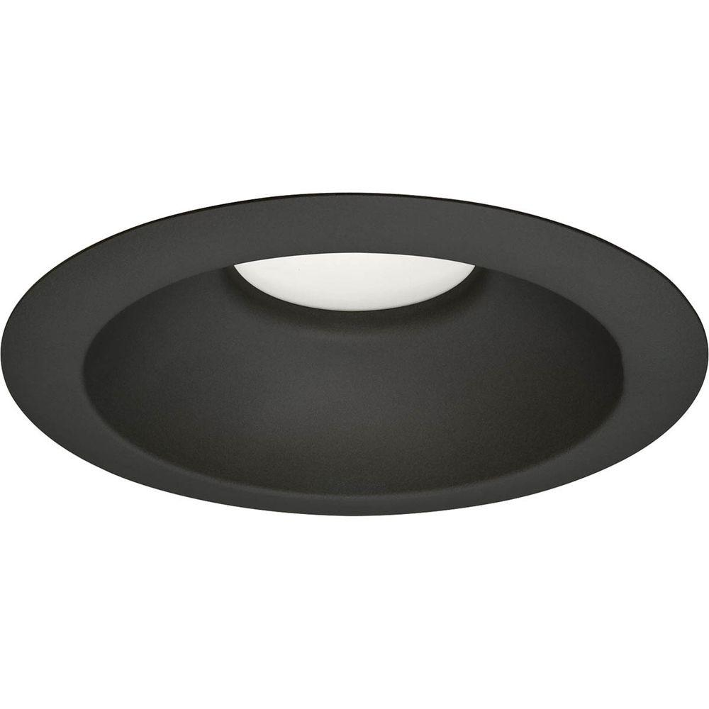5 in black recessed lighting trims recessed lighting the black recessed led trim aloadofball Gallery
