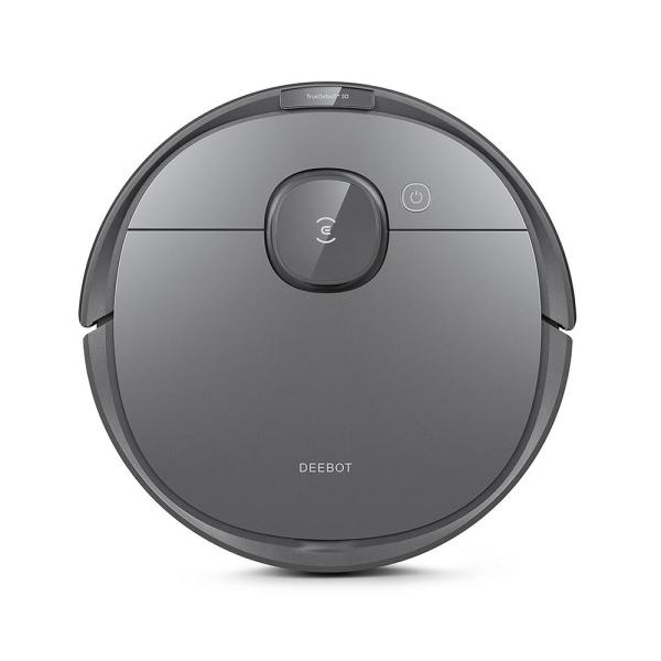DEEBOT OZMO T8 Robotic Vacuum Cleaner and Mop with TrueDetect in Black