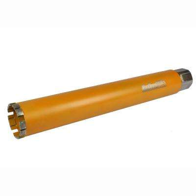 2-1/4 in. Diamond Turbo Core Drill Bit for Concrete Drilling