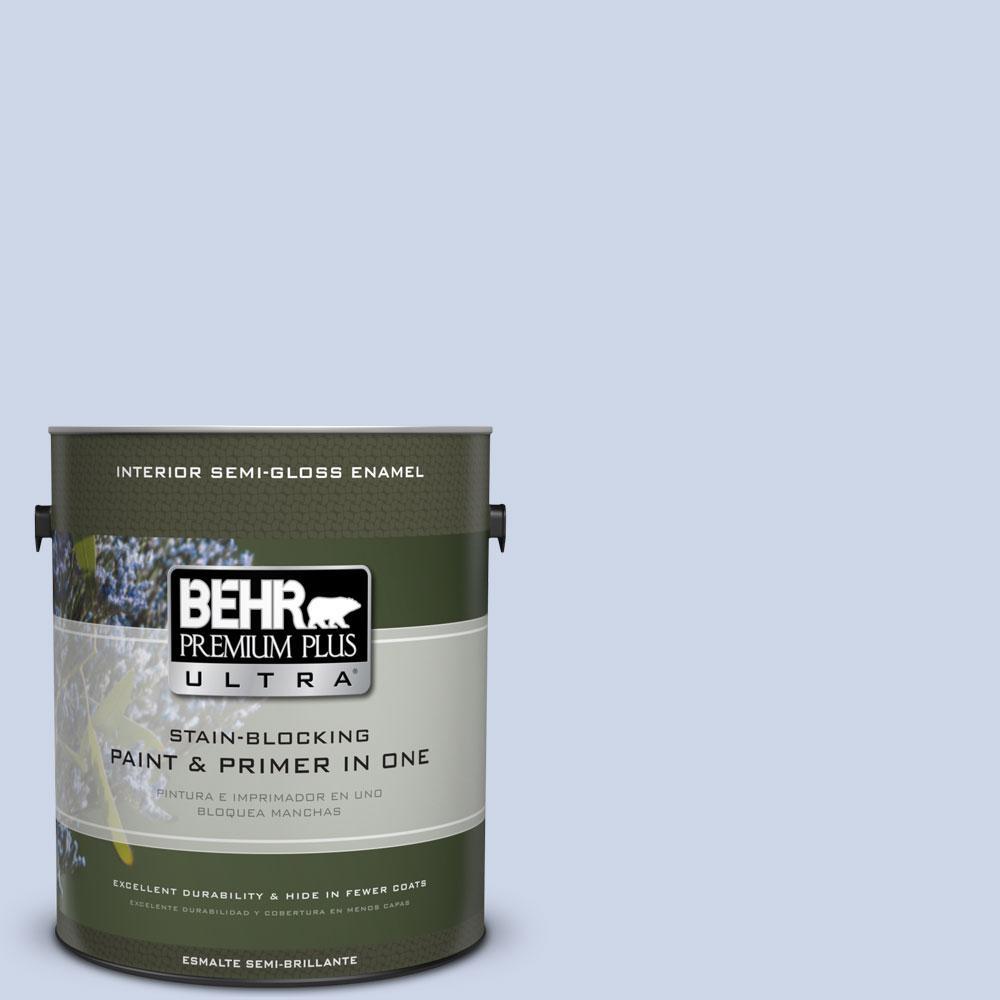 1-gal. #600C-2 Silent Ripple Semi-Gloss Enamel Interior Paint