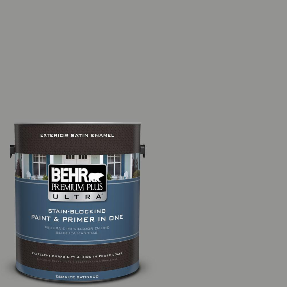 BEHR Premium Plus Ultra 1-gal. #780F-5 Anonymous Satin Enamel Exterior Paint