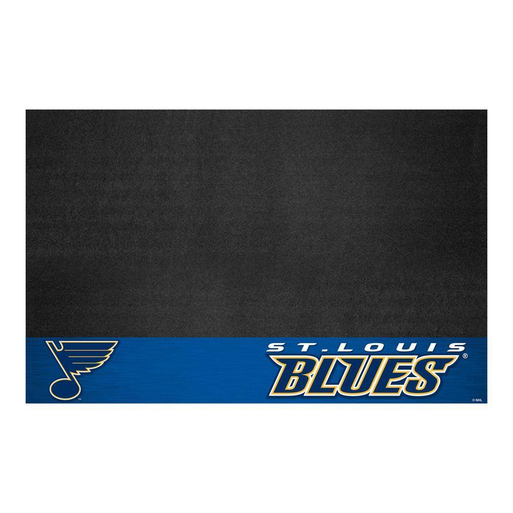 St. Louis Blues 26 in. x 42 in. Grill Mat