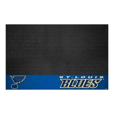 St. Louis Blues 26 in. x 42 in. Grill Mat