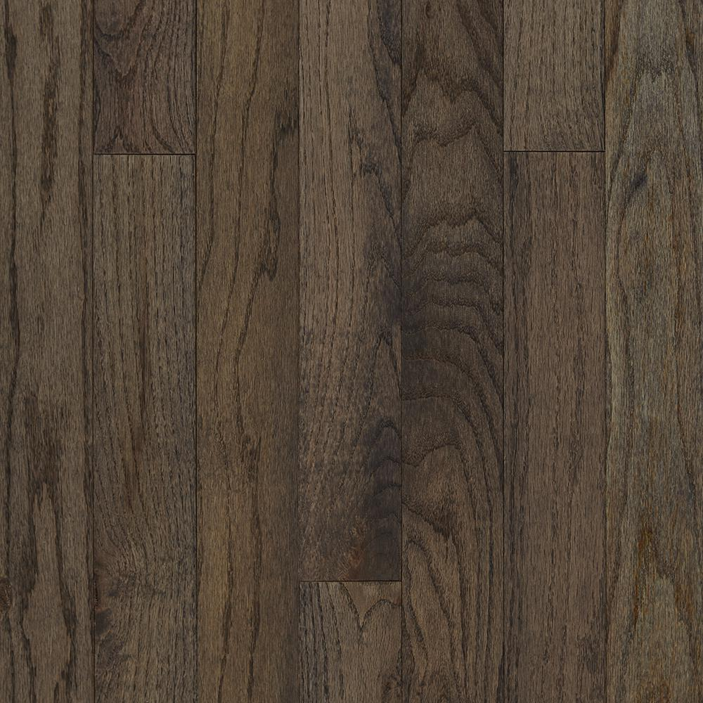 c3739f5b Plano Oak Gray 3/4 in. Thick x 3-1/4 in. Wide x Varying Length Solid Hardwood  Flooring (22 sq. ft. / case)