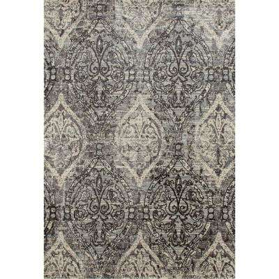 Karelia Elizabeth Mushroom Brown 4 ft. x 6 ft. Area Rug