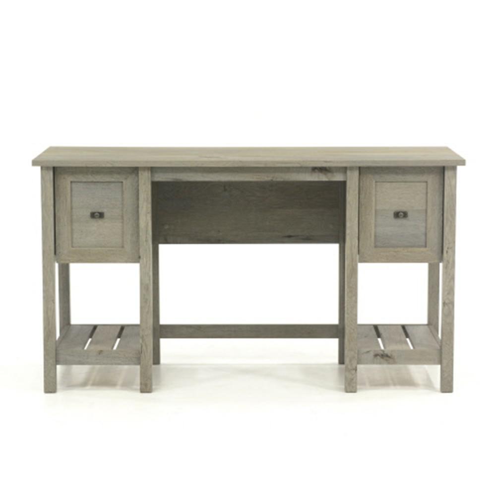 Cottage Road Mystic Oak Desk with File Drawer