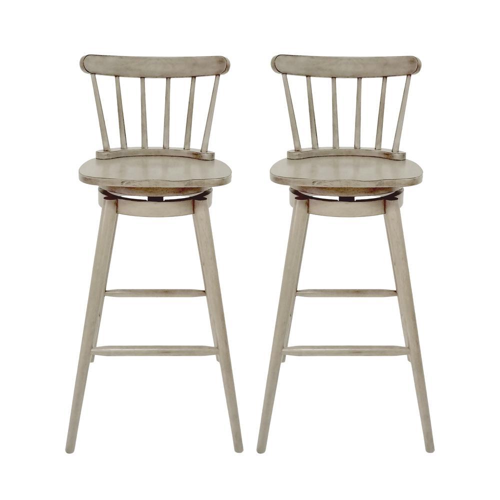 Shiloh Magnolia Green Plastic Nylon Dining Chairs (Set of 2)