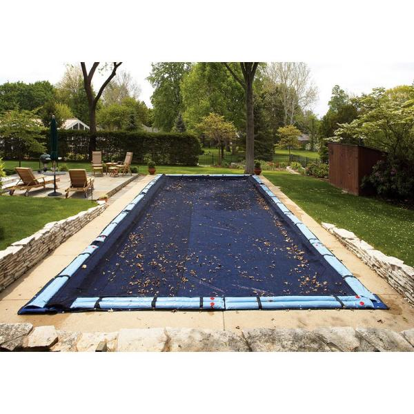 16 ft. x 24 ft. Rectangular In Ground Pool Leaf Net Cover