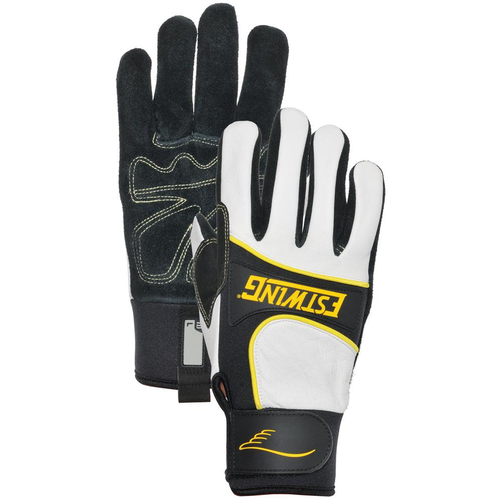 Premium Split Cow Palm Work Medium Glove